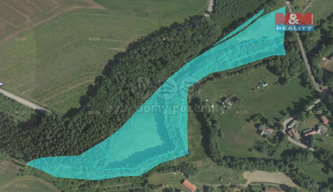 Prodej, lesní pozemky, 25.338 m2, Libštát