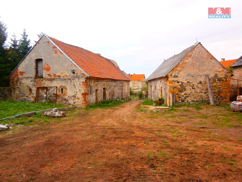 Prodej, zemědělská usedlost, 1561 m2, Krásný Dvůr-Němčany