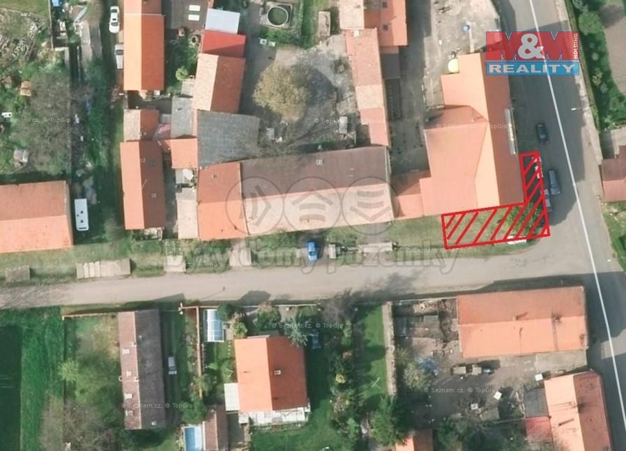 Prodej, pozemek, 93 m2, Slatina pod Hamzburkem