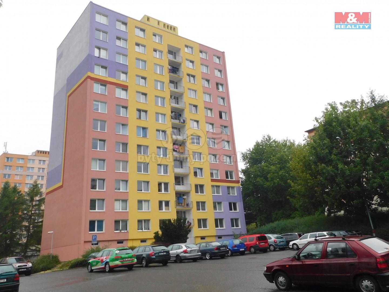 Pronájem, byt 1+kk, Ústí nad Labem, ul. Rozcestí