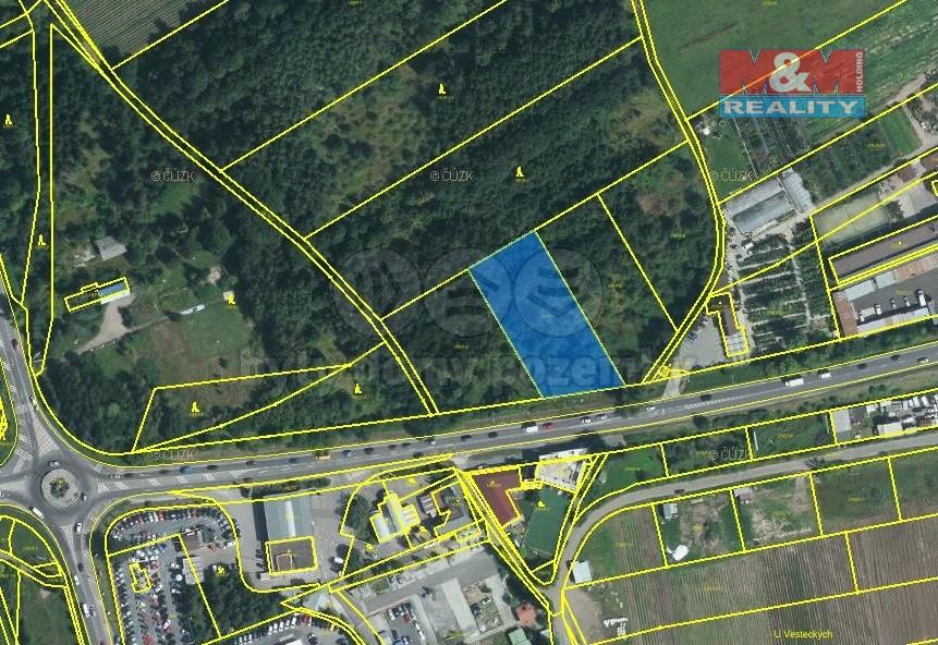 Pozemek 3015 m2, prodej, orná půda, Kunratice