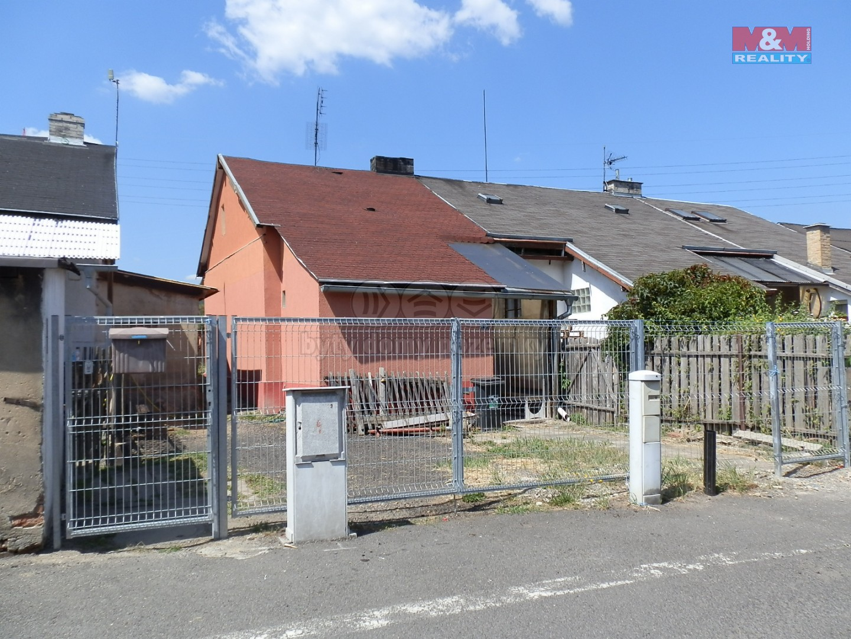 Prodej, rodinný dům, 60 m2, OV, Lom u Mostu, ul. Hornická