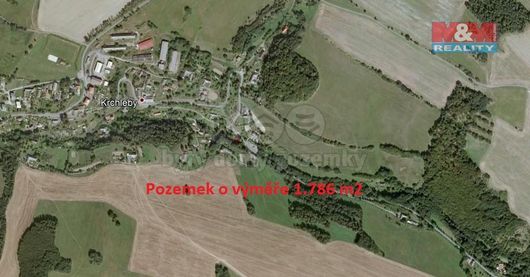 Prodej, pozemek, 1786 m2, Krchleby na Moravě