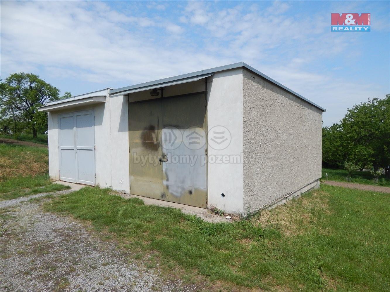 Prodej, garáž, 28 m2, Prace