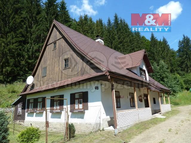 Prodej, chalupa 3+1, 522 m2, Malá Morava - Vojtíškov