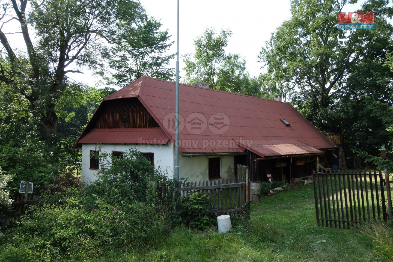 Prodej, rodinný dům 4+kk, 3631 m2, Hamry