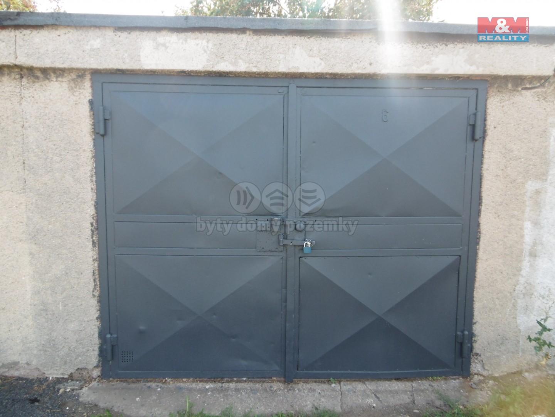 Prodej, garáž, 21 m2, OV, Chomutov, ul. Černovická