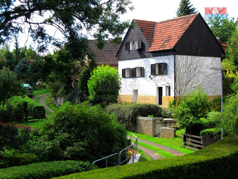 Prodej, rodinný dům, 3+kk, 1457 m2, Hlinná - Lbín