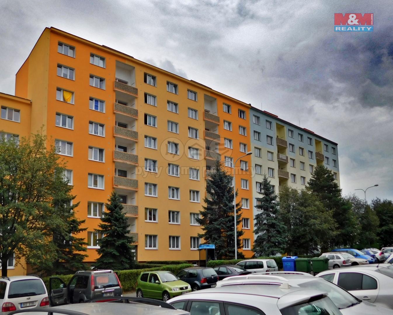 Prodej, byt 2+1, 60 m2, OV, Chomutov, ul. Borová