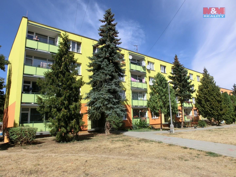 Prodej, byt 1+kk, 24 m2, Postoloprty, ul. Jiráskovo náměstí