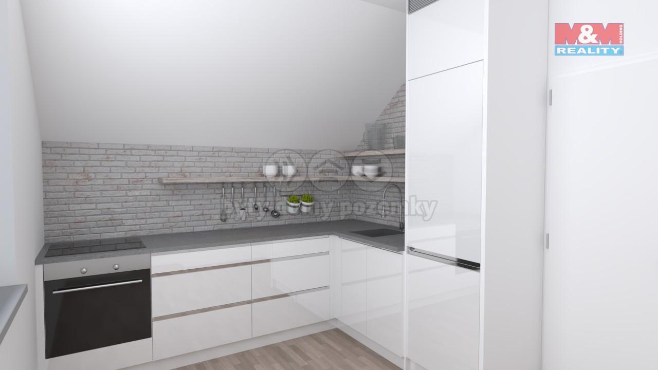 Prodej, byt 2+1, 75 m2, 3 NP, Brumovice, ul. Opavská