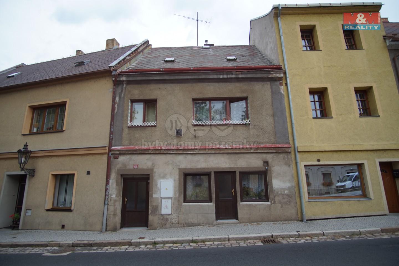 Prodej, rodinný dům 4+1, Klášterec nad Ohří, ul. Chomutovská