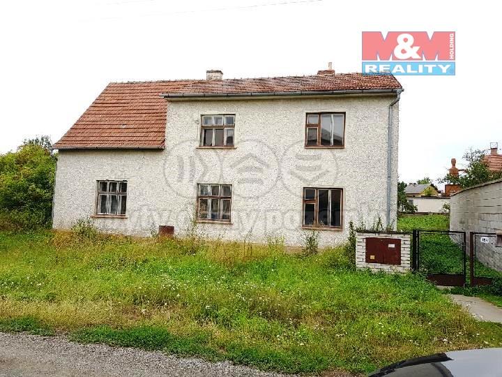 Prodej, rodinný dům 6+1, 180 m2, Pňovice