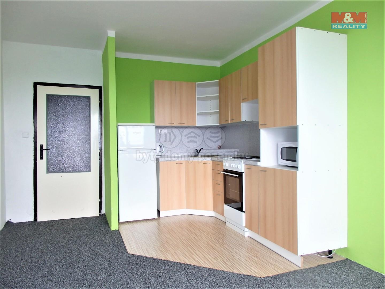 Pronájem, byt 1+kk, Ostrava - Zábřeh, ul. Petruškova