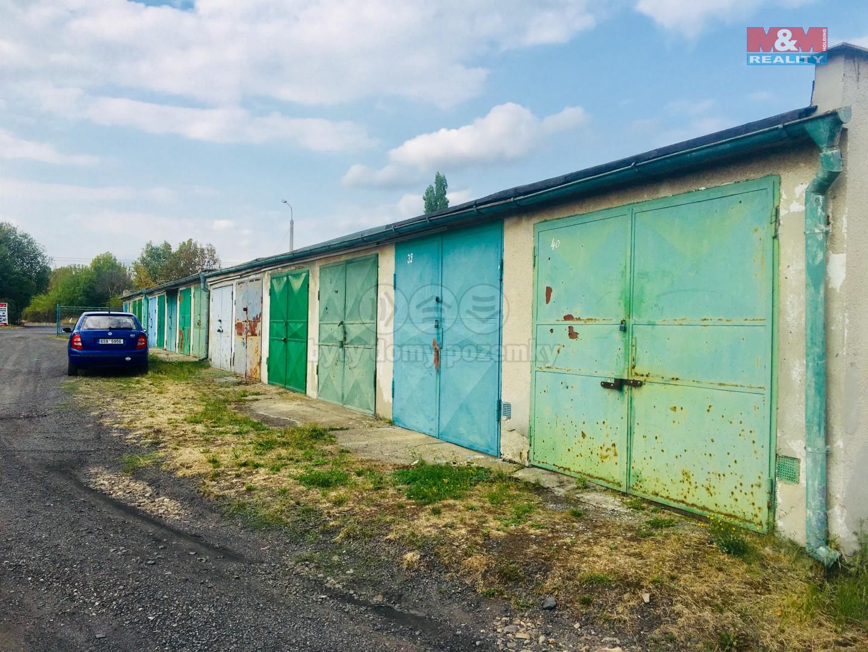 Prodej, garáž, 21 m2, DV, Chomutov, ul. Beethovenova