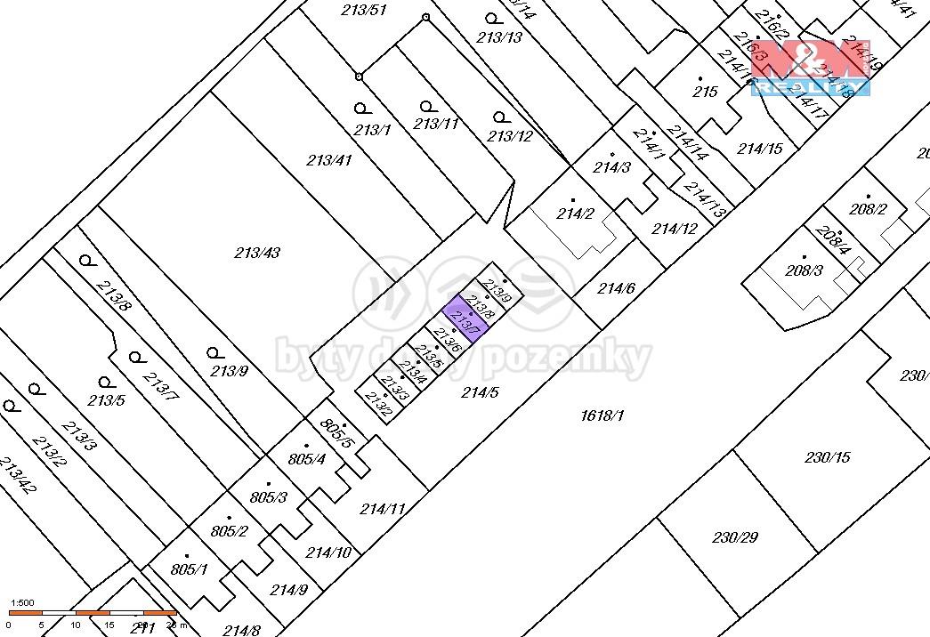 Prodej, garáž, 24 m2, OV, Lom, ul. Hornická