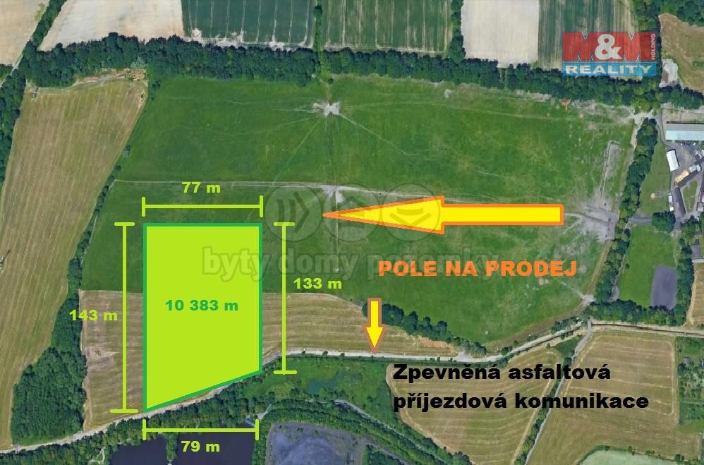 Prodej, pole, 10383 m2, Ostrava - Hrabová