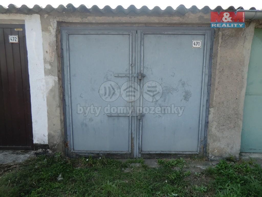 Prodej, garáž, 17 m2, OV, Žatec, ul. Libočanská