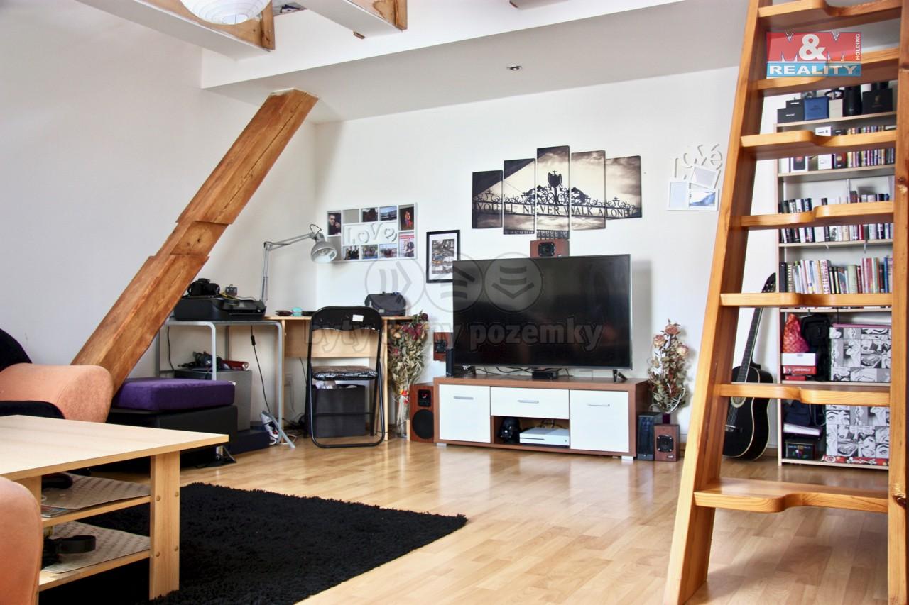 Prodej, byt 1+kk, 46 m2, Brno, ul. Gorkého