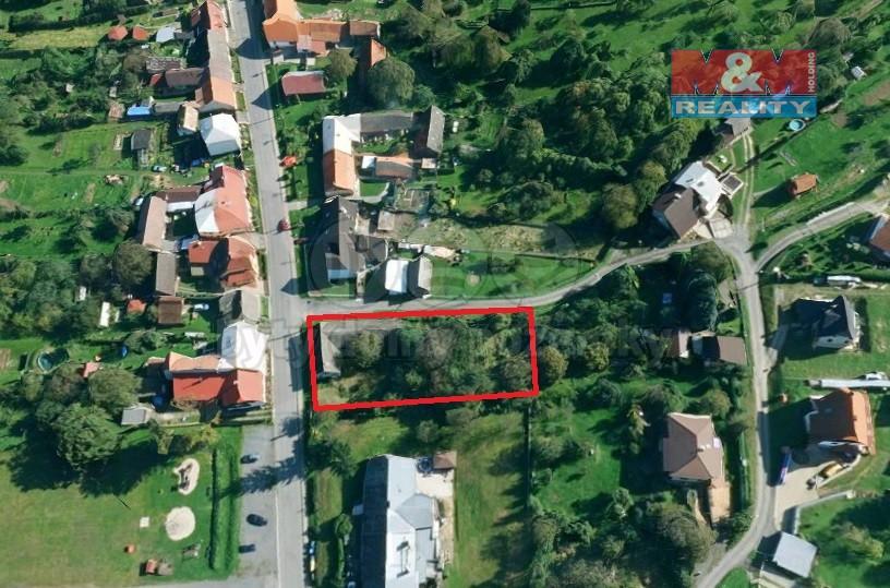 Prodej, stavební pozemek, 1568 m2, Loučka