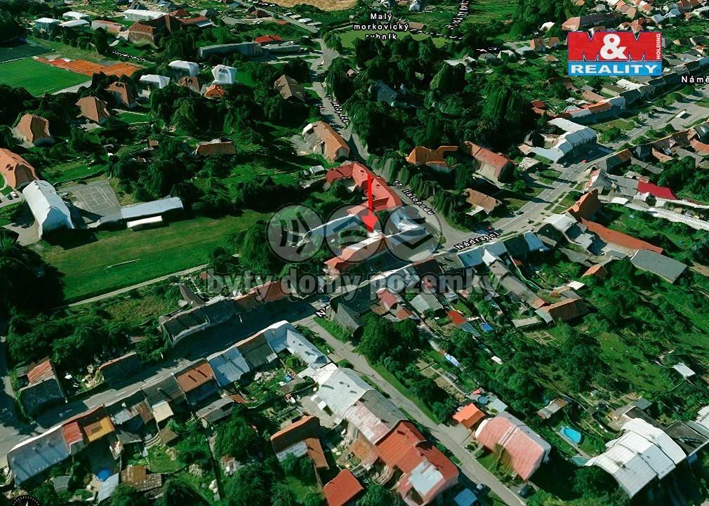 Pronájem, byt 2+kk, 60 m2, Morkovice-Slížany