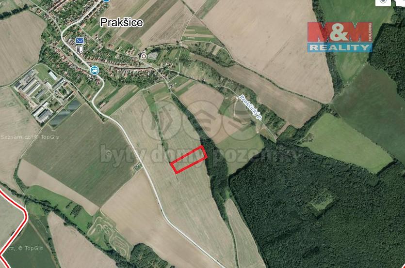 Prodej, orná půda, 5287m2, Prakšice