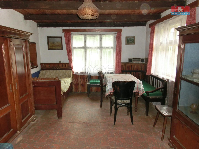 pokoj ve vedlejší části