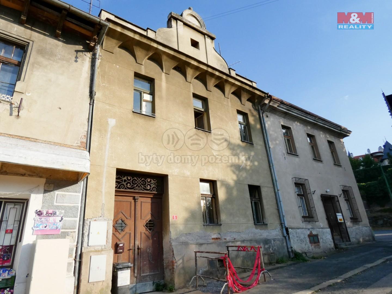 Prodej, nájemní dům, Žleby, ul. Zámecké náměstí
