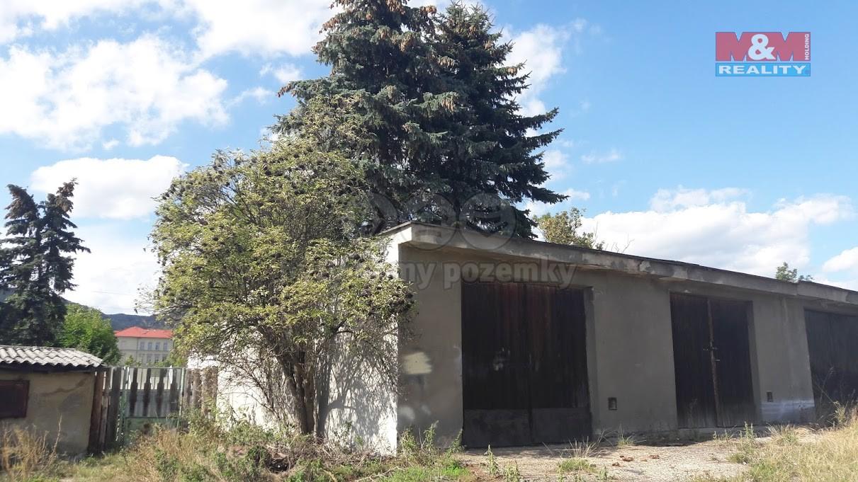 Prodej, garáž, 33 m2, OV, Horní Jiřetín, ul. Školní