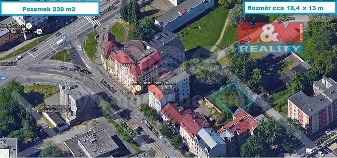 Prodej, stavební pozemek, 239 m2, Ostrava, ul. Škrétova