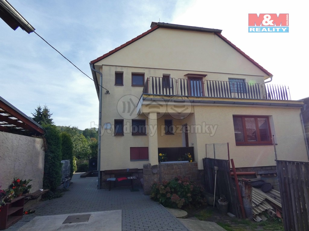 Prodej, rodinný dům 6+2, Řehlovice