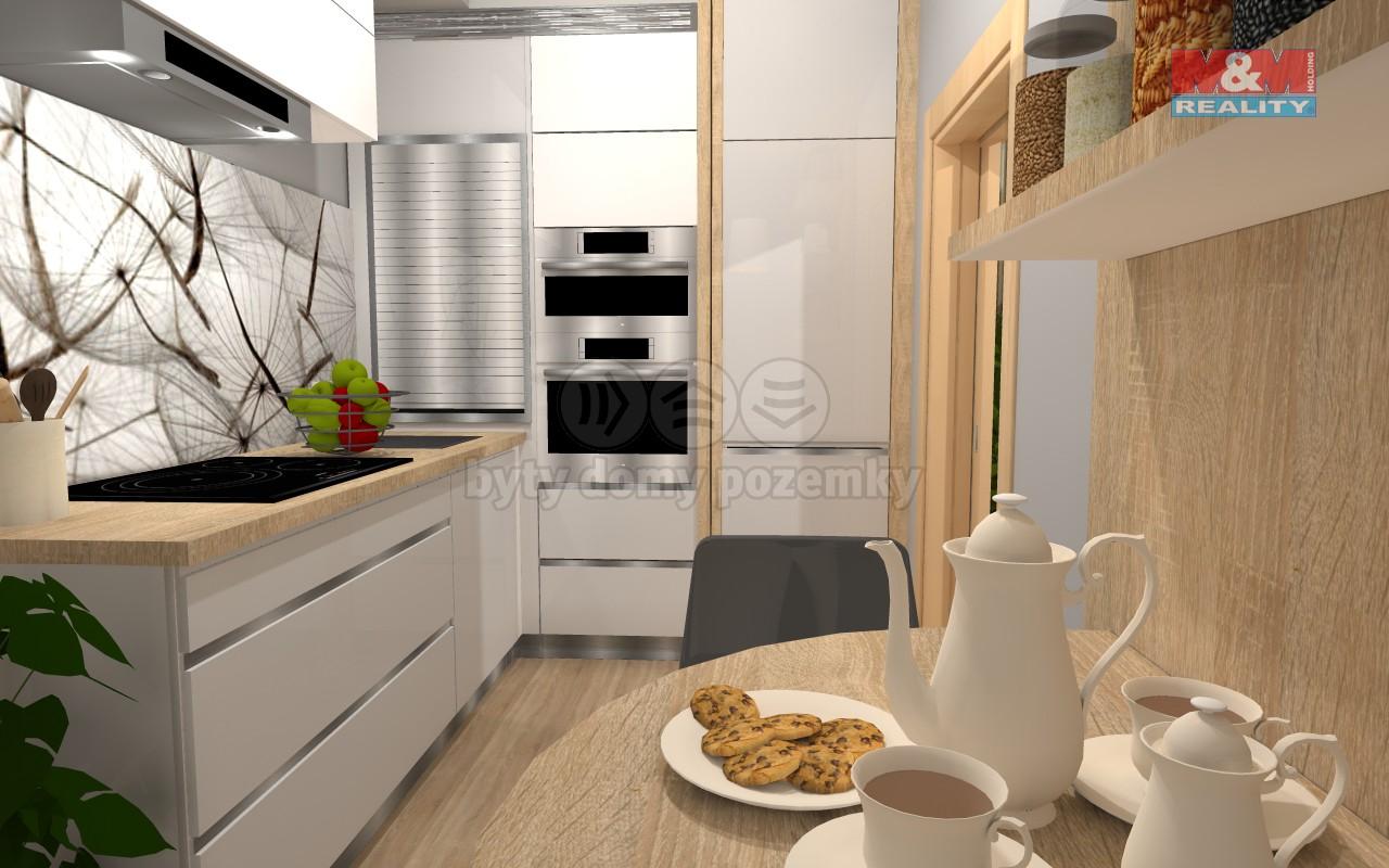 Prodej, byt 3+1, 73 m2, Brno, ul. Jírova
