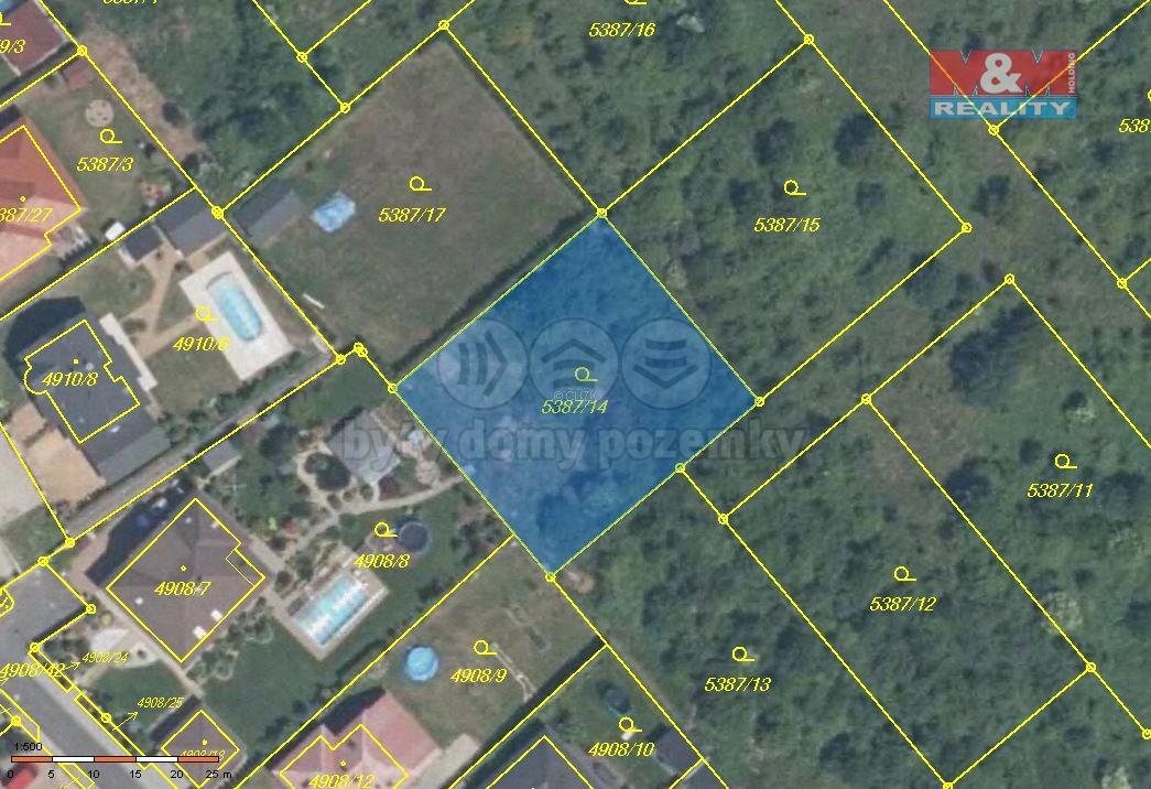 Prodej, pozemek, 966 m2, Chomutov, ul. Březenecká