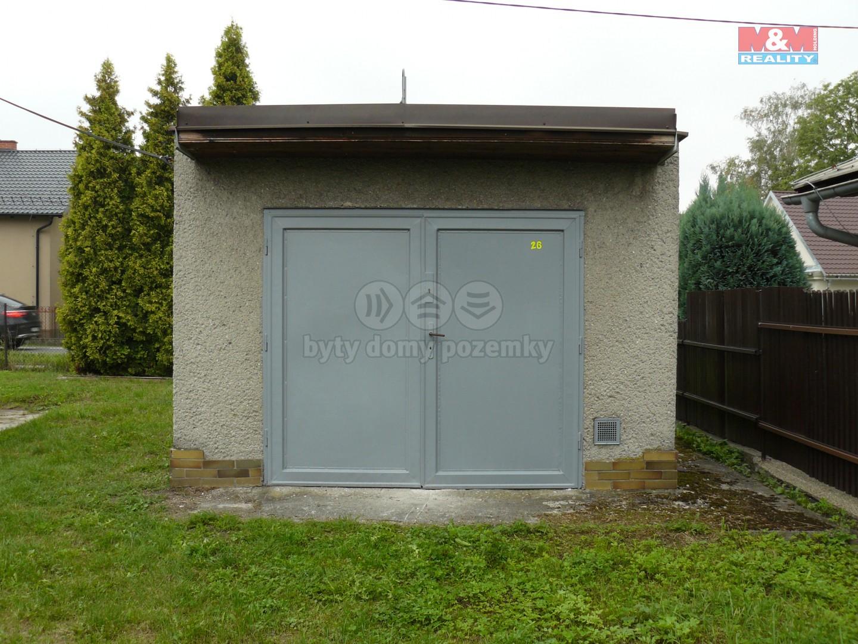 Prodej, garáž, 24 m2, Karviná, ul. Svatopluka Čecha