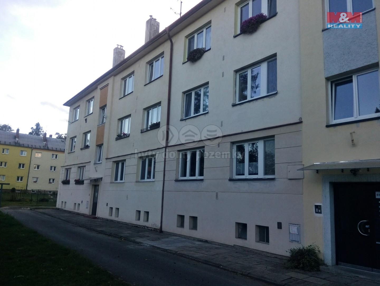 Pronájem, byt 2+1, 50 m2, Opava, ul. Sadová