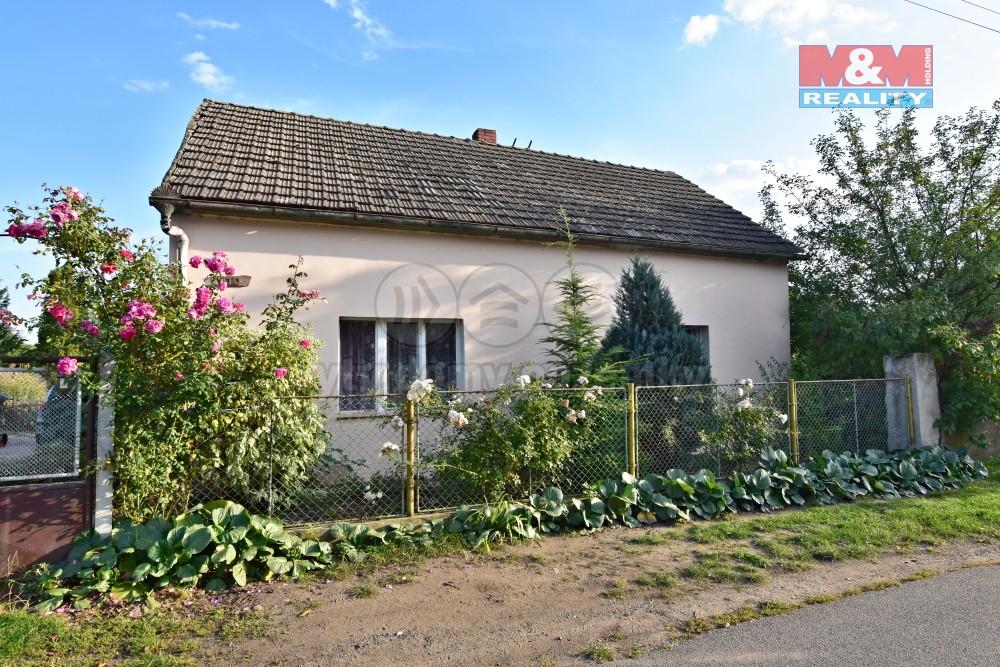 Prodej, rodinný dům 4+1, 90 m2, Vraňany