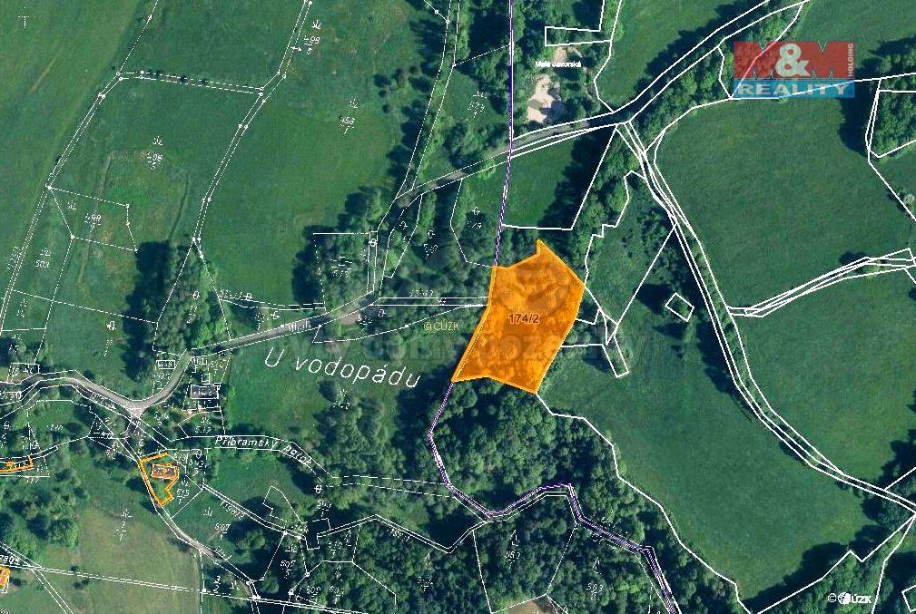 Prodej, les, 7506 m2, Žandov-Velká Javorská