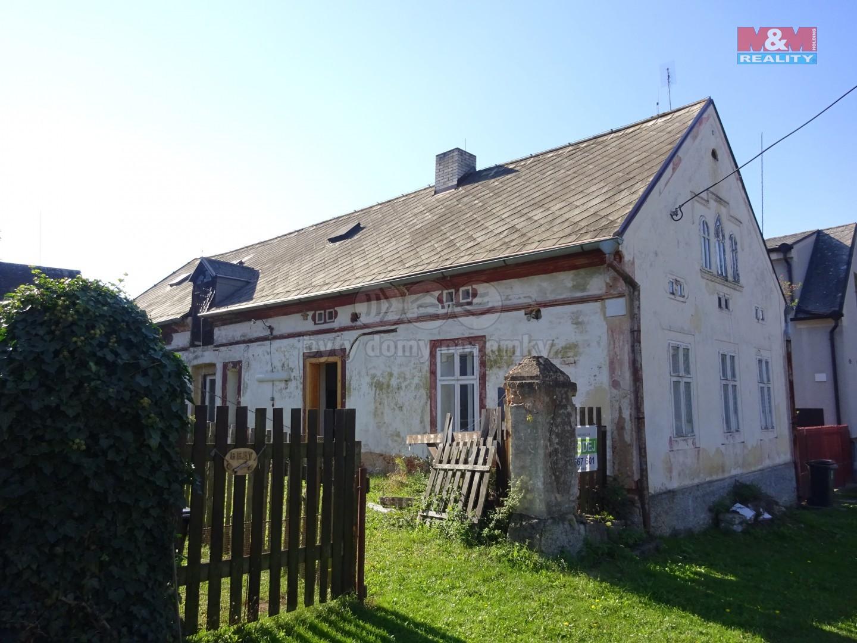 Prodej, chalupa, 3+1, 819 m2, Hluboká - Žihle