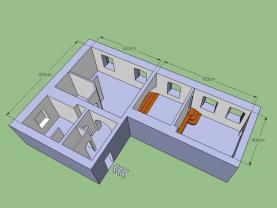 Pronájem, 2+kk, 80 m2, Vrchlabí - centrum