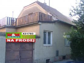Prodej, rodinný dům, 3+1, Modřice