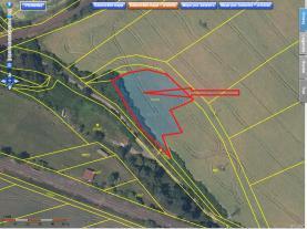 Prodej, zemědělský pozemek, 2111 m2, Podlešín