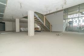 Prodej, obchodní prostory, 468 m2, Praha 6, ul. Adamova