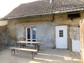 Prodej, rodinný dům, 2+kk, 62 m2, Lužec nad Vltavou