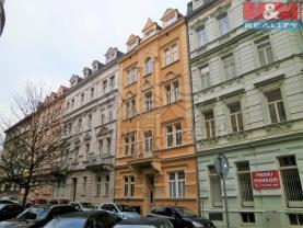 Pronájem, byt 1+1, Karlovy Vary, ul. K. Čapka