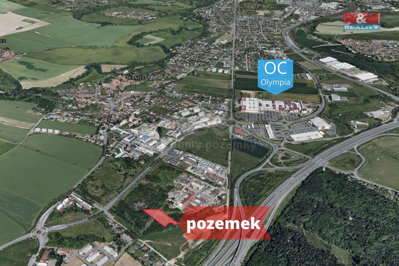 Prodej, komerční pozemek, 3082 m², Plzeň - Černice