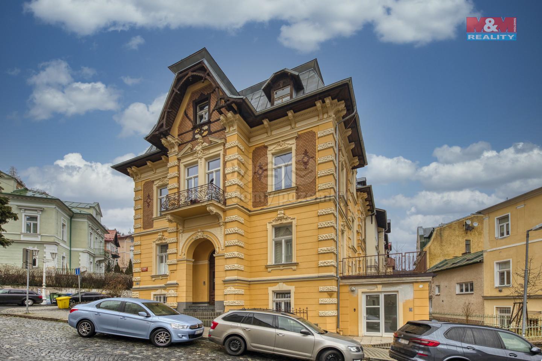 Pronájem bytu 3+1, 90 m2, Mariánských Lázních, ul. Dykova