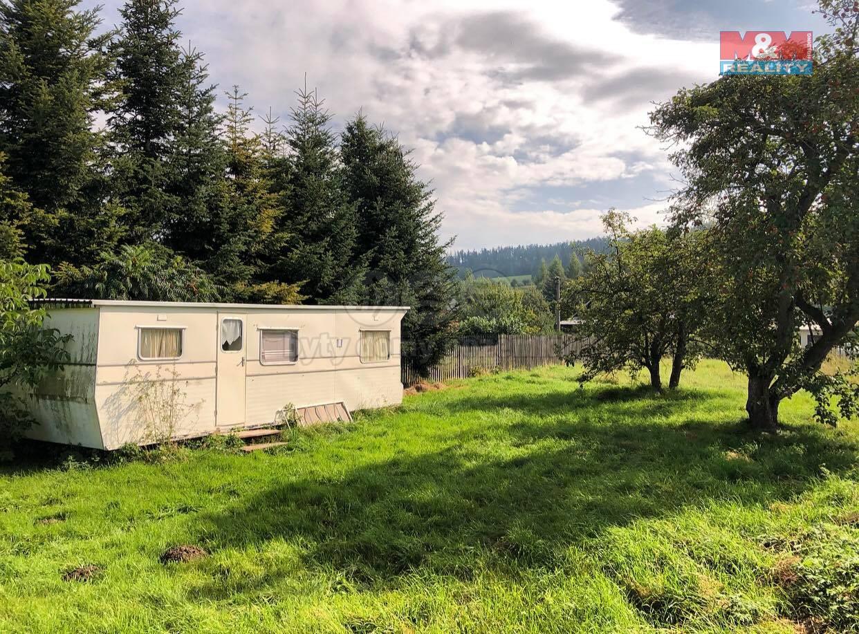 Prodej zahrady, 1098 m², Zátor - Loučky