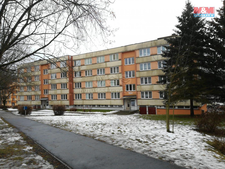 Pronájem bytu 3+1, 87 m², Český Krumlov - Sídliště Plešivec