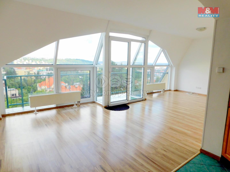 Pronájem, mezonetový byt 5+kk, 150 m2, Praha - 5, Malvazinky