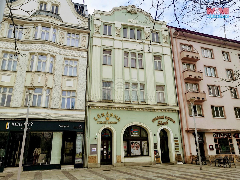 Pronájem obchodu, 120 m², Ostrava, ul. Masarykovo náměstí